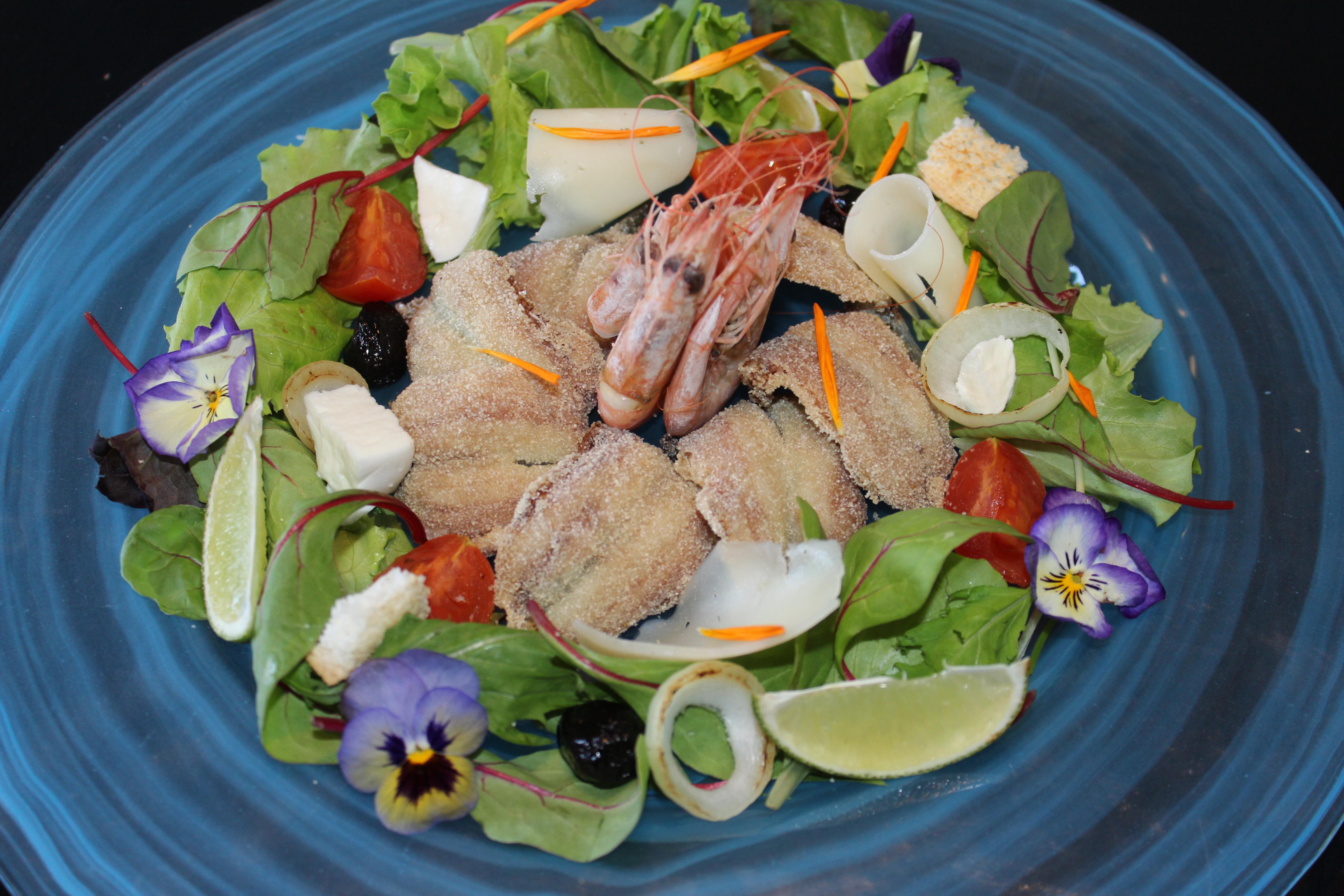 saraghina saladcheese ricetta dello chef pezzuol