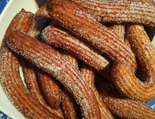 Churros siciliano alternativo