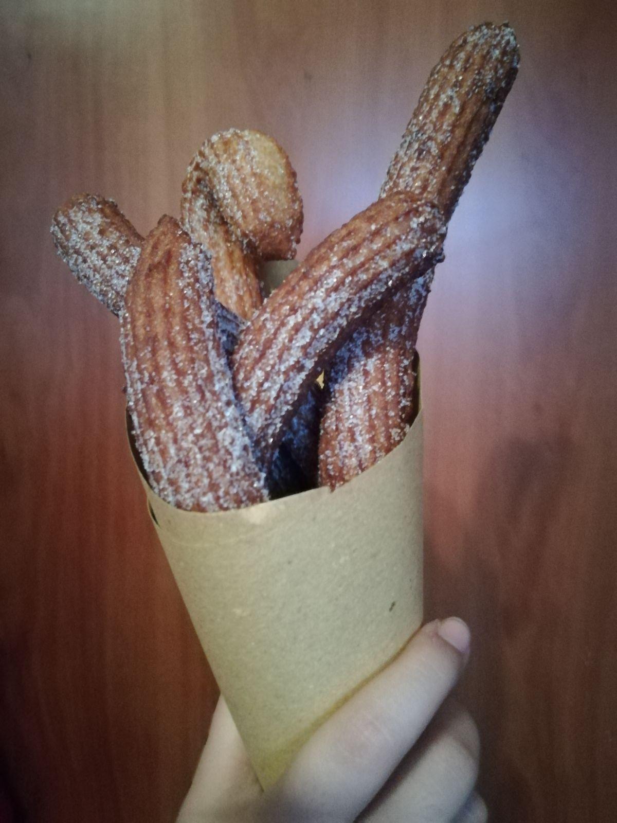 churros siciliano da passeggio