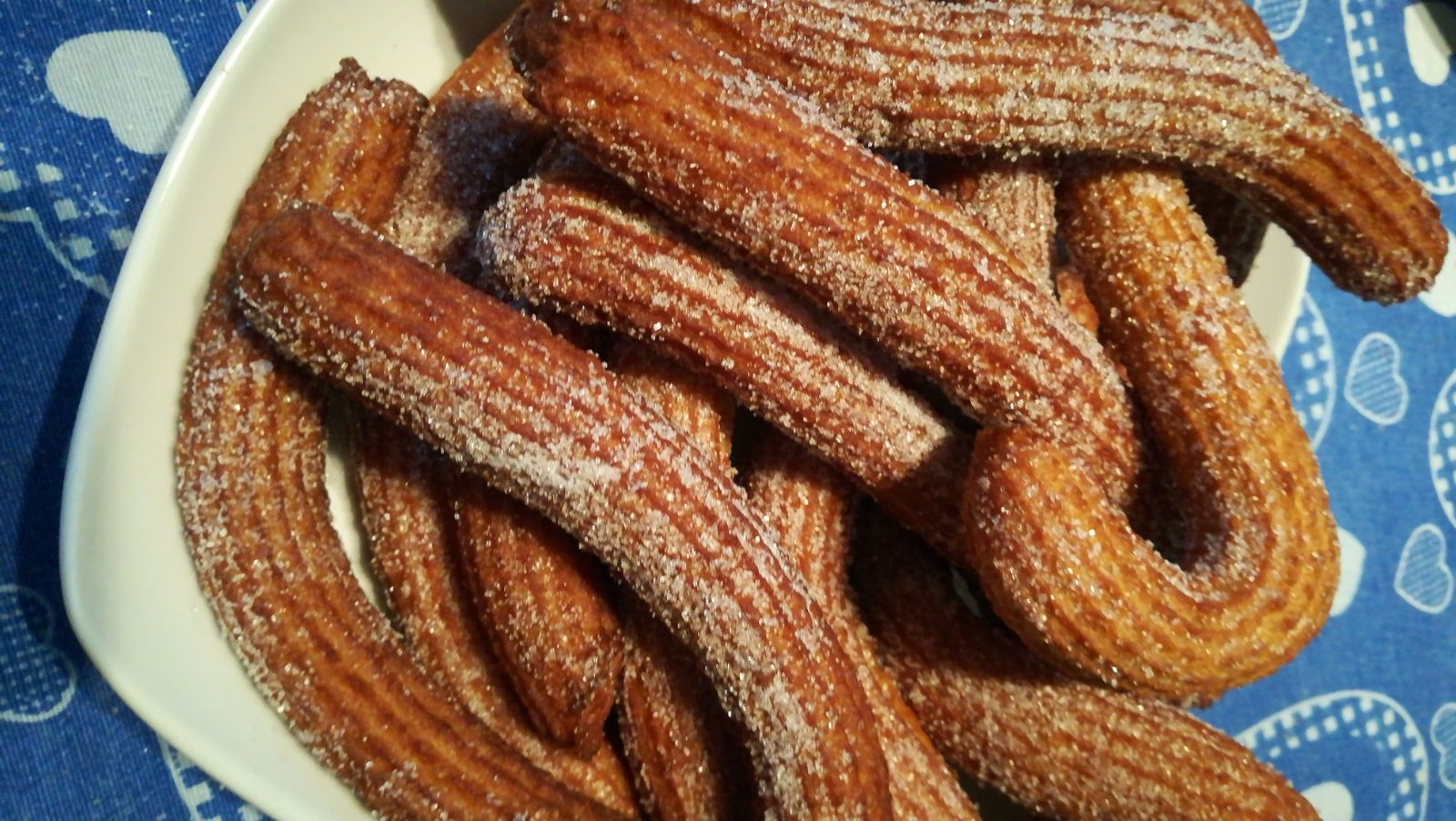 churros siciliano by chef Pezzuol